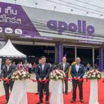 Apollo starts first truck tyre centre in Hat Yai,Thailand