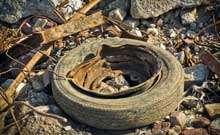 Illegal tyre dumping rampant in UK